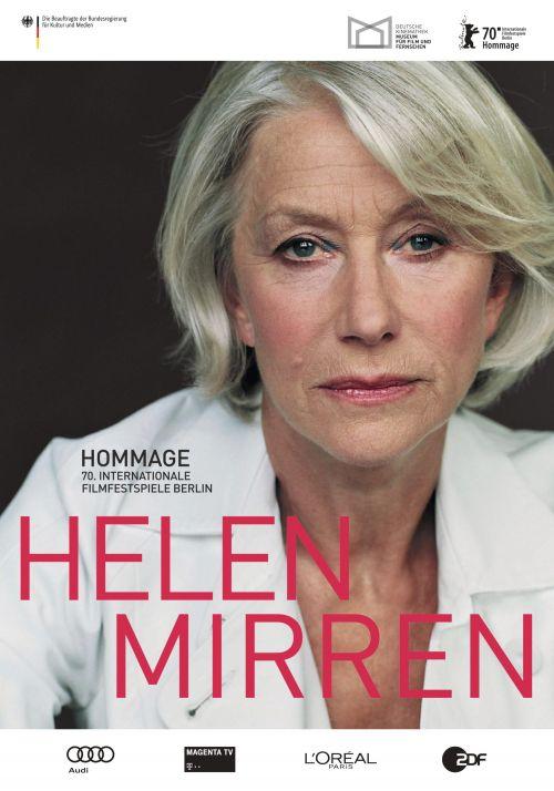 Plakat zur Hommage an Helen Mirren