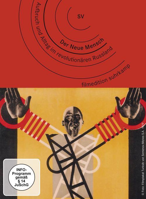 """Cover der DVD """"Der Neue Mensch. Aufbruch und Alltag im revolutionären Russland"""""""