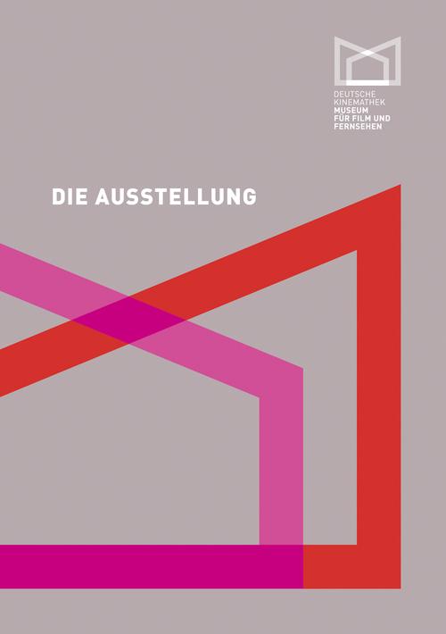 """Cover des Katalogs """"Die Ausstellung - Deutsche Kinemathek"""""""