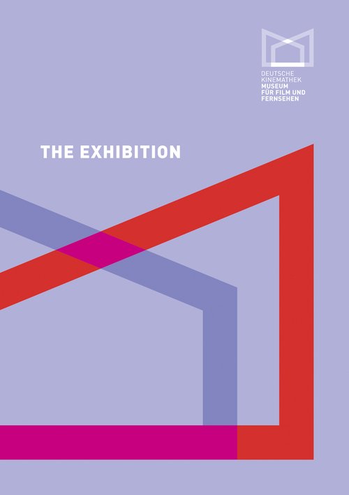 "Cover of the Catalogue ""The Exhibition - Deutsche Kinemathek"""