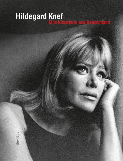 """Cover des Ausstellungskatalogs """"Hildegard Knef. Eine Künstlerin aus Deutschland"""""""