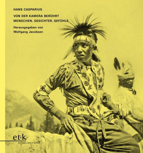 Buchcover zu Hans Casparius, herausgegeben von Wolfgang Jacobsen