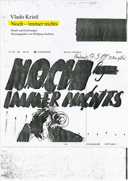"""Cover des Buches """"Noch – immer nichts. Briefe und Zeichnungen"""""""