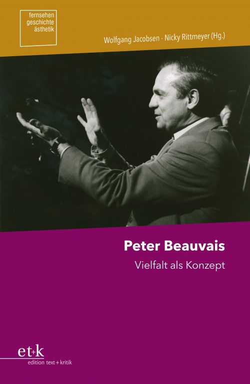 "Cover des Buches ""Peter Beauvais. Vielfalt als Konzept"""