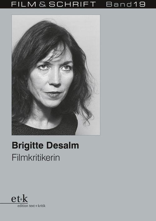 """Cover des Buches """"Brigitte Desalm. Filmkritikerin"""""""