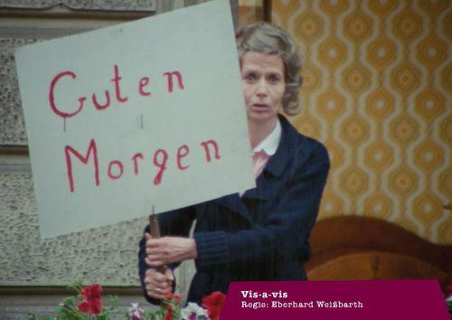 Szenenfoto aus dem Film Vis-à-Vis, BRD 1981, Regie: Eberhard Weißbarth