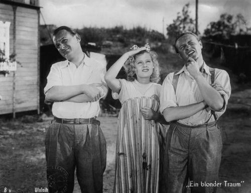 Ein blonder Traum (Germany 1931, director: Paul Martin) Source: Filmmuseum Berlin – Stiftung Deutsche Kinemathek