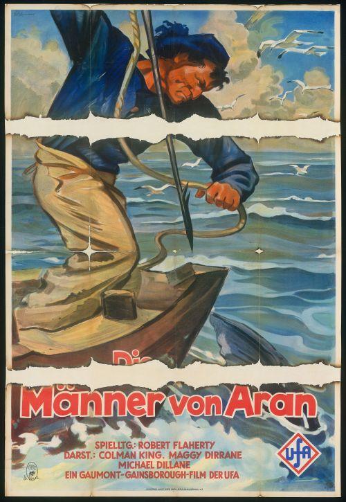 Man of Aran (Die Männer von Aran, GB 1934, Regie: Robert J. Flaherty) Quelle: Deutsche Kinemathek, Grafikarchiv