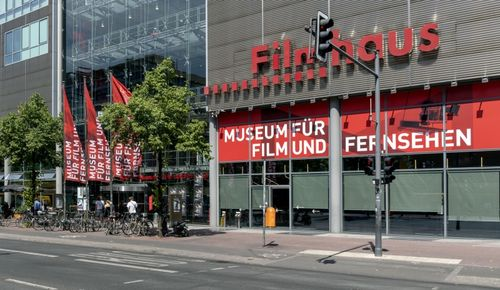Façade of the Filmhouse at Potsdamer Platz