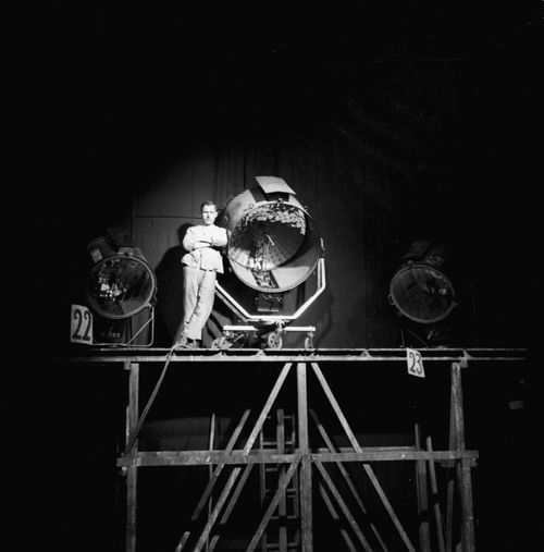 Behind the scenes of Die Dreigroschenoper (DE/USA 1931, directed by G. W. Pabst)