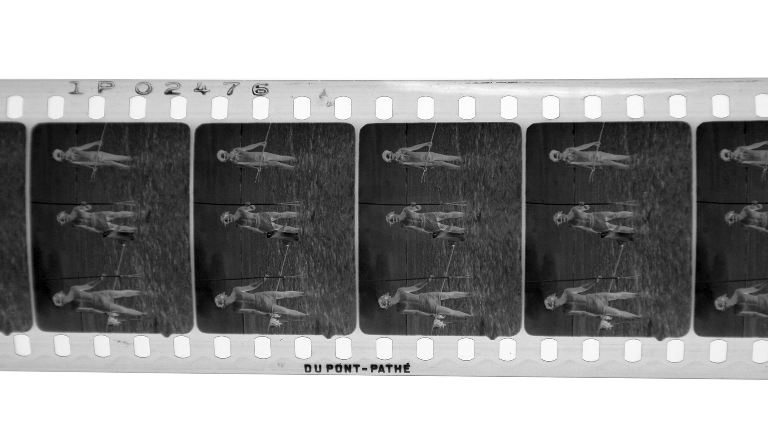 Negativstreifen des Films