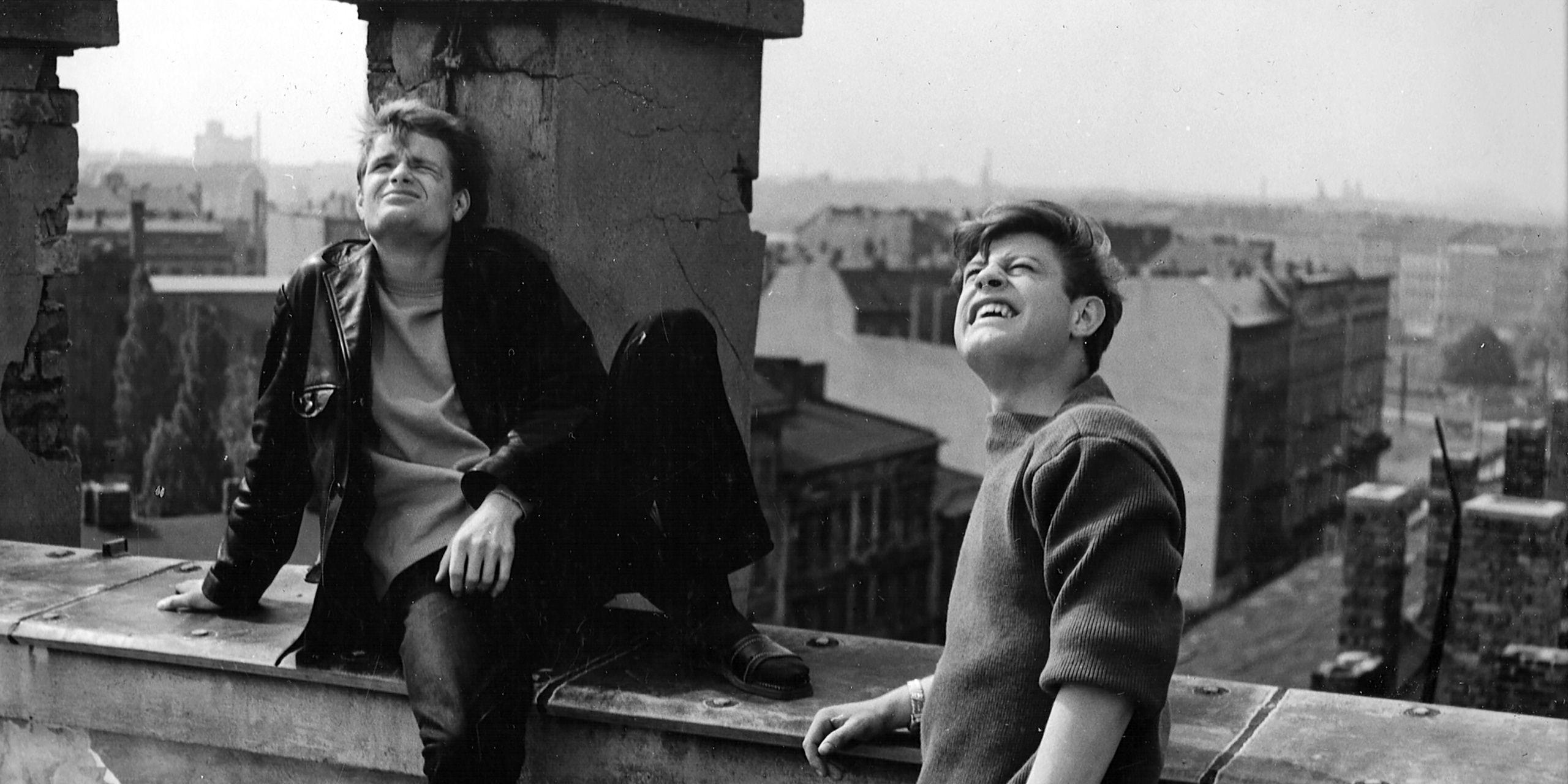 Szenenfoto aus dem Film Berlin, um die Ecke, DDR 1965-66, Regie: Gerhard Klein